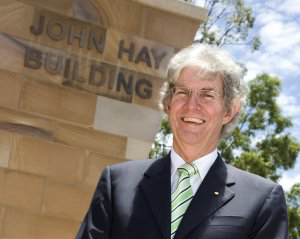 QBI pays tribute to one of UQ's most influential leaders, former Vice-Chancellor and President Emeritus Professor John Hay AC.