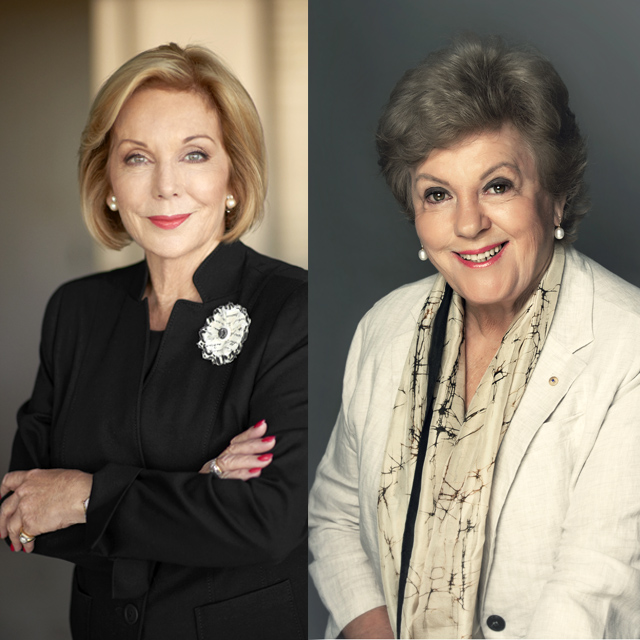 Sallyanne Atkinson and Ita Buttrose talk about dementia