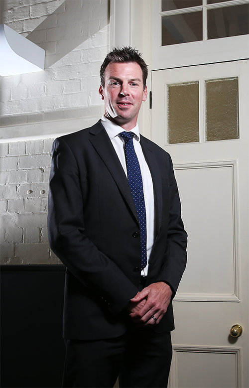CEO of the Rugby League Players Association Ian Prendergast