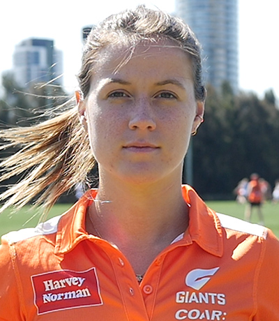 Nicola Barr, AFLW Giants player talks concussion