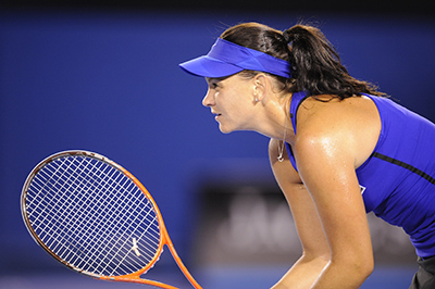 Tennis is not usually a sport you'd associate with concussion, but for Casey Dellacqua the injury is all too real.