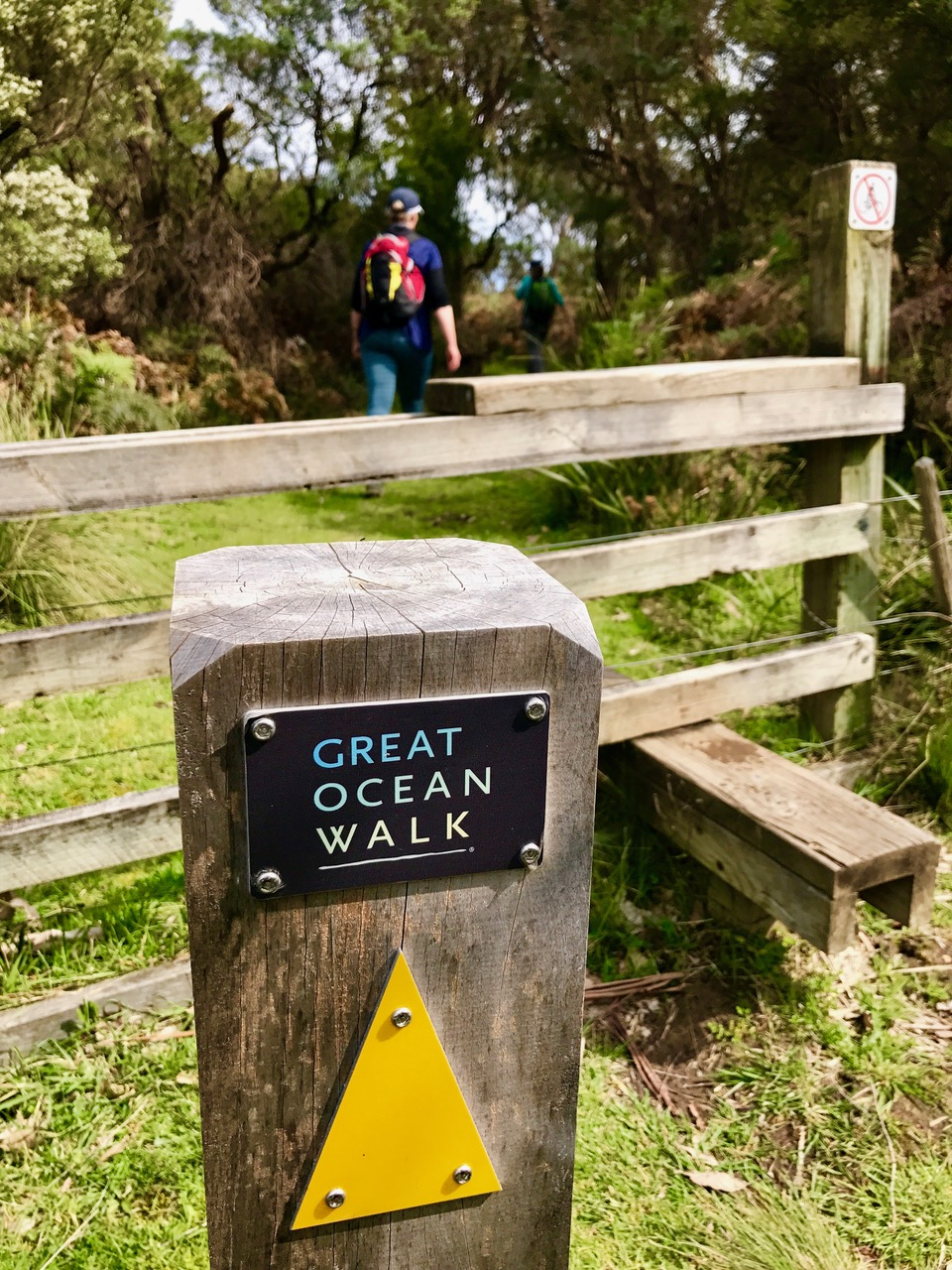 The group of walkers will tackle the stunning Great Ocean Walk.
