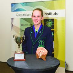 Australian Brain Bee Challenge Queensland champion Abigail Green competes this week in the national finals of the neuroscience competition.