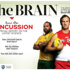 The Queensland Brain Institute has partnered with the Australian Athletes' Alliance to tackle concussion and its long-term effects.