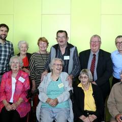Members of the Sunshine Coast ARAFMI group and QBI reserachers