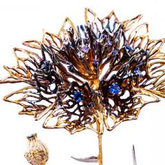 Luke Hammond's neuroscience jewellery piece
