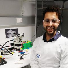 PhD student Amu Faiz has discovered a love for running.
