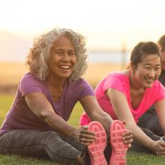 Physical exercise is great way to to keep your brain healthy and active.