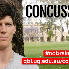 Concussion research study at QBI