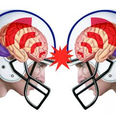 Do helmets protect against concussion?
