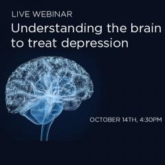 Live Webinar: Understanding the brain to treat depression