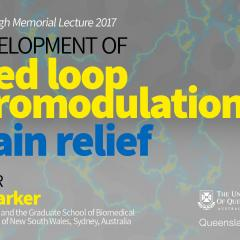 Peter Goodenough Memorial Lecture 2017
