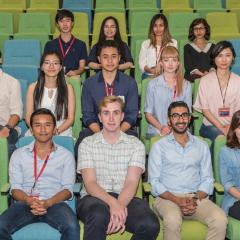 The newest cohort of Summer Research Scholars will soon commence research at QBI. (Image: Nick Valmas / QBI)