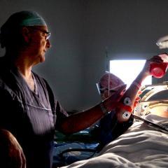 Professor Peter Silburn, a renowned neurologist, talks deep brain stimulation.