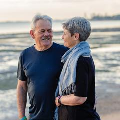 In this episode of A Grey Matter, we hear from John Quinn and his partner Glenys, on their shared experience of living with John's dementia.